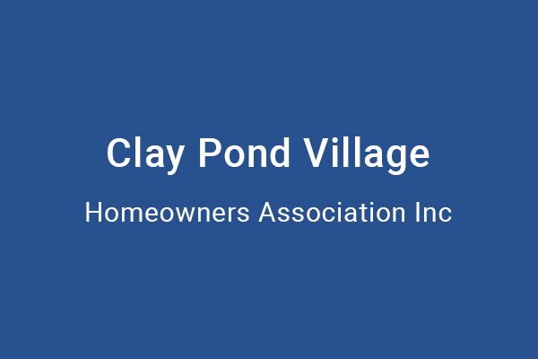 Clay Pond Village HOA