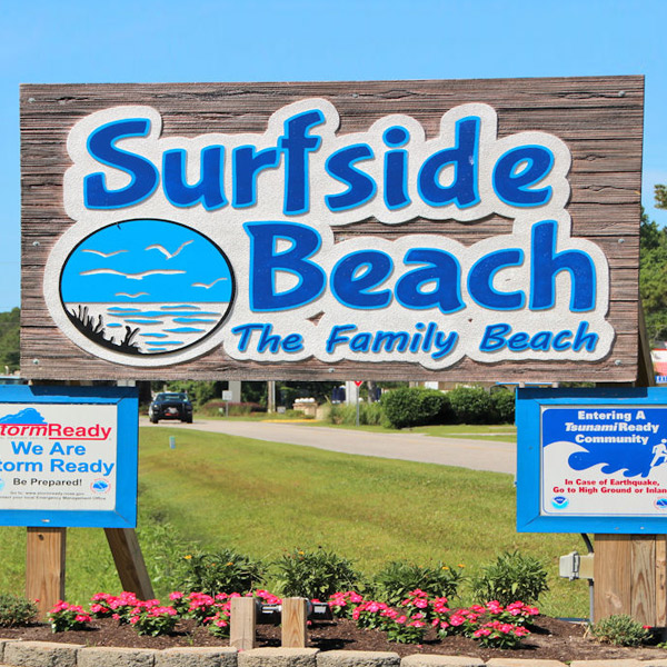 Surfside Beach Homes